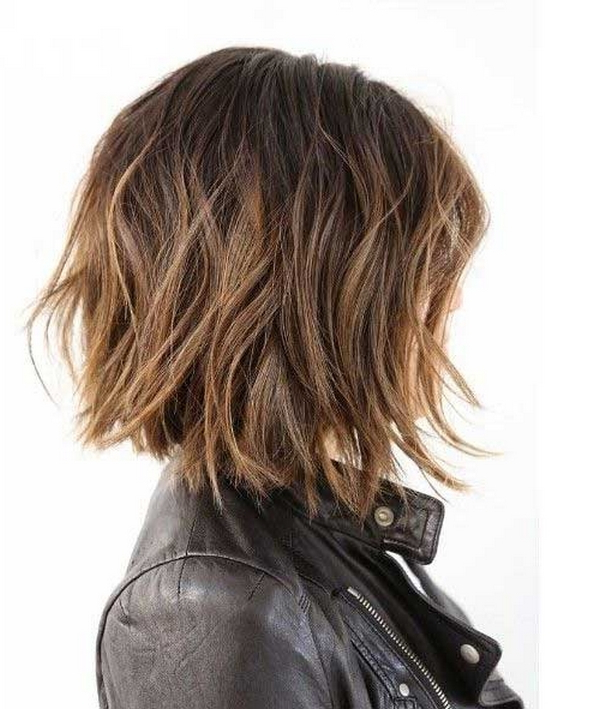 20+ Wavy Bob Hairstyles For Short & Medium Length Hair In Texturized Tousled Bob Hairstyles (View 9 of 25)