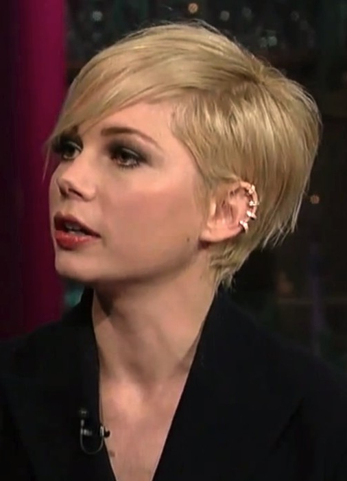 2014 Michelle Williams Short Hair Styles: Pixie Haircut Regarding Most Recently Michelle Williams Pixie Haircuts (View 9 of 25)
