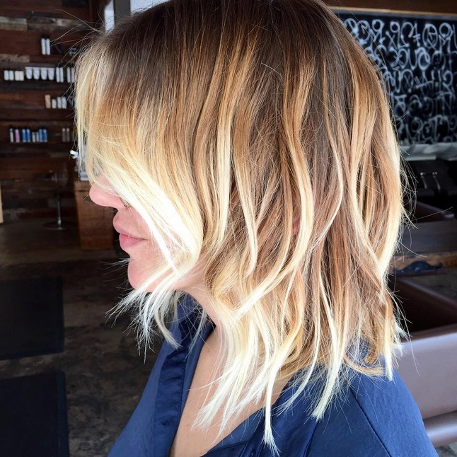 21 Adorable Choppy Bob Hairstyles For Women 2019 Within Ombre Piecey Bob Hairstyles (View 13 of 25)