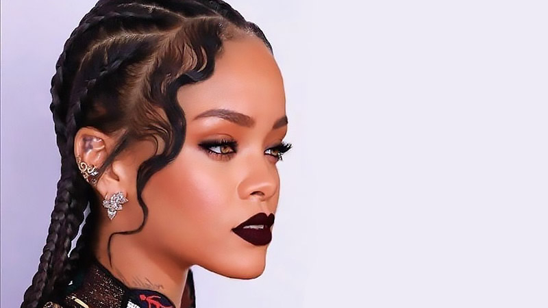 21 Cool Cornrow Braid Hairstyles You Need To Try – The Trend For Most Popular Asymmetrical French Braid Hairstyles (View 24 of 25)