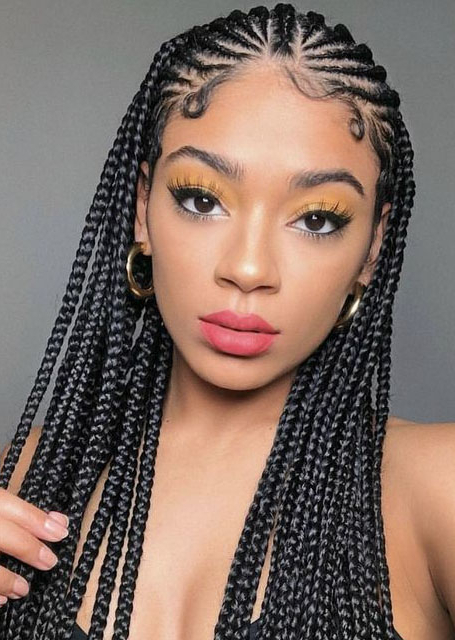 21 Cool Cornrow Braid Hairstyles You Need To Try – The Trend Regarding Current Straight Backs Braids Hairstyles (View 11 of 25)