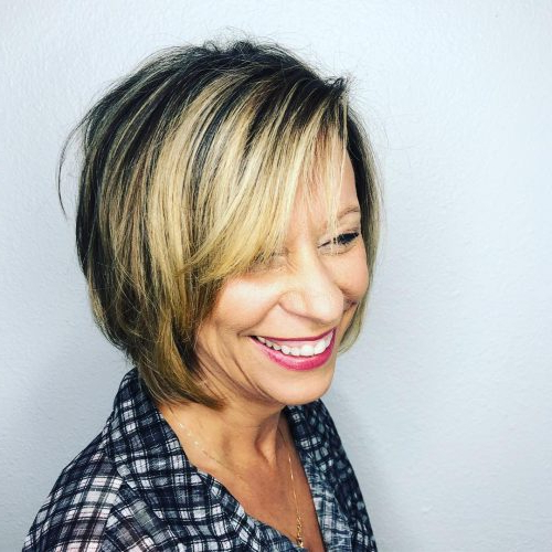 21 Edgy & Cute Short Hairstyles & Haircuts For Women Over 60 Regarding Cute Round Bob Hairstyles For Women Over  (View 13 of 25)