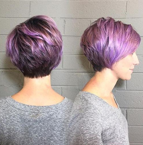 22 Best Colorful Ways To Enhance Your Pixie Haircuts 2020 In Current Smokey Pastel Colors Pixie Haircuts (View 11 of 25)