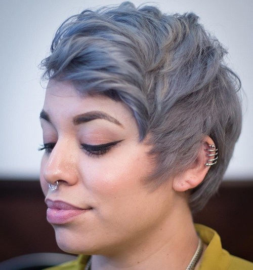 22 Best Colorful Ways To Enhance Your Pixie Haircuts 2020 With Regard To Most Up To Date Smokey Pastel Colors Pixie Haircuts (View 4 of 25)