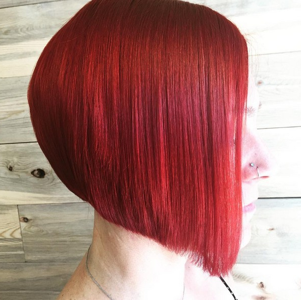 22 Chic A Line Bob Hairstyles – Hairstyles Weekly Within Bright Red Bob Hairstyles (View 24 of 25)
