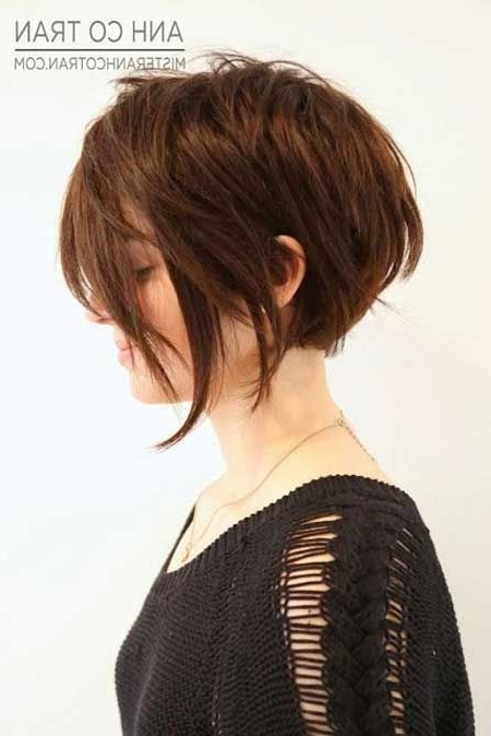 22 Cool Short Hairstyles For Thick Hair – Pretty Designs Inside Most Current Piecey Pixie Haircuts For Asian Women (View 23 of 25)