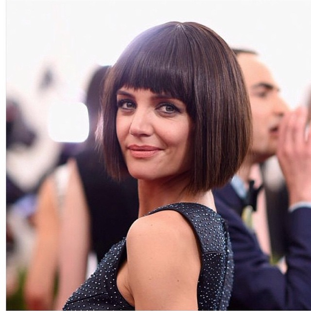 22 Trendy Bob Hairstyles With Bangs – Popular Haircuts For Sharp And Blunt Bob Hairstyles With Bangs (View 23 of 25)