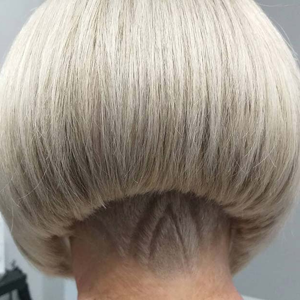 23 Bold And Beautiful Undercut Bob Haircuts | Page 2 Of 2 Intended For Blonde Undercut Bob Hairstyles (View 25 of 25)