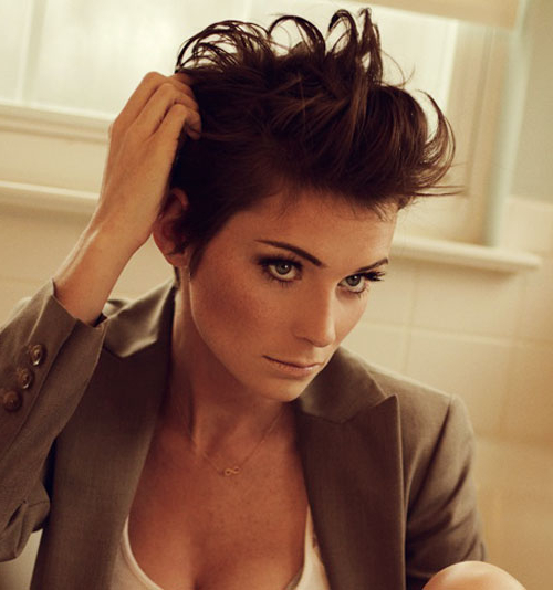 23 Chic Short (And 'messy') Hairstyles   Styles Weekly For Latest Edgy Messy Pixie Haircuts (View 16 of 25)