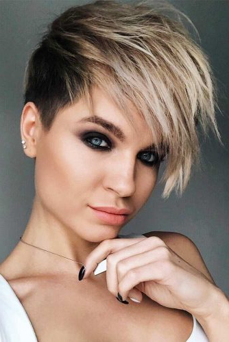 24 Super Daring Disconnected Undercut Styles | Lovehairstyles With Regard To Most Current Disconnected Pixie Haircuts With An Undercut (View 8 of 25)