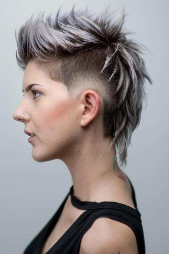 24 Super Daring Disconnected Undercut Styles | Short Hair Pertaining To Most Recent Disconnected Pixie Haircuts With An Undercut (View 22 of 25)