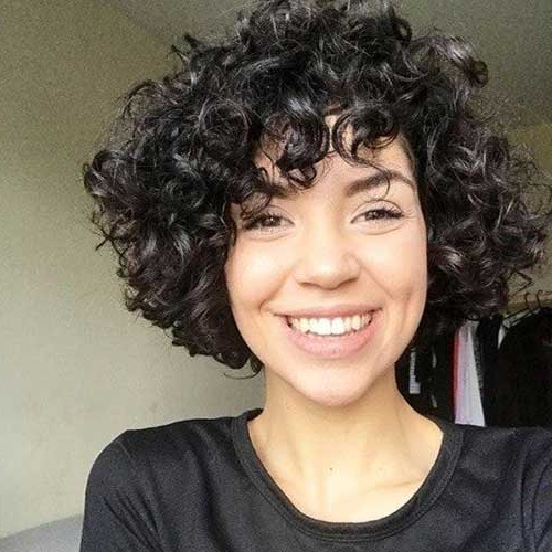 25 Alternatives About Short Curly Hairstyles For Women With Curly Bob Hairstyles (View 24 of 25)