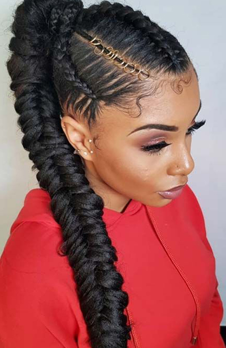 25 Classy Ponytail Hairstyles For Women In 2020 – The Trend Throughout Most Popular Ponytail Braid Hairstyles (View 6 of 25)
