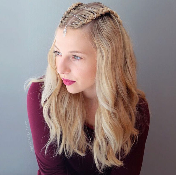 25+ Half Up, Half Down Hairstyles Ideas To Feel Next Level Inside Latest Half Braided Hairstyles (View 24 of 25)