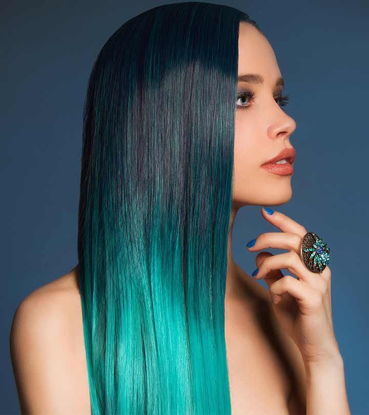 25 Mesmerizing Mermaid Hair Color Ideas With Most Current Aqua Green Undercut Hairstyles (View 15 of 25)