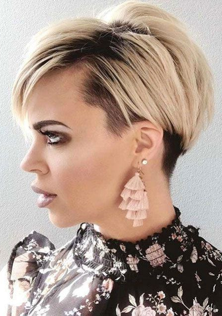 Featured Photo of Blonde Pixie Haircuts
