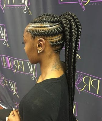 26 Mohawk Braids Styles Ponytails That Will Attract Your Inside 2020 Accessorized Straight Backs Braids (View 7 of 25)