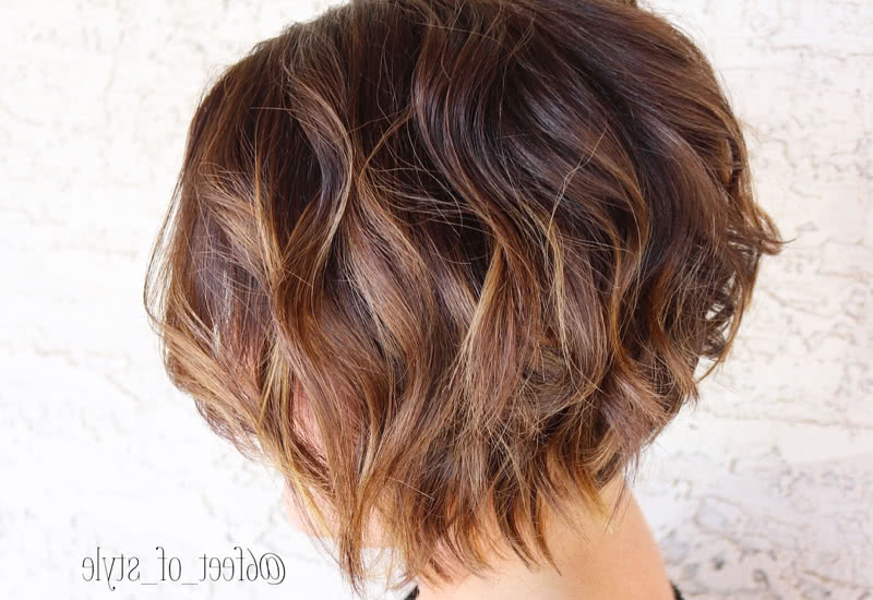 27 Cute Stacked Bob Haircuts Trending In 2020 Throughout Short Stacked Bob Hairstyles (View 23 of 25)