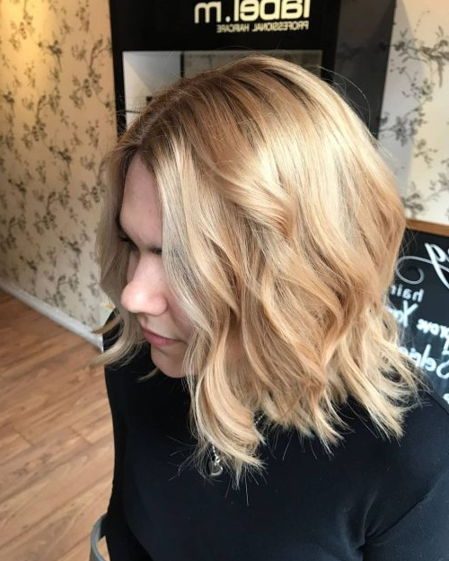 28 Most Flattering Bob Haircuts For Round Faces With Regard To Jagged Bob Hairstyles For Round Faces (View 5 of 25)