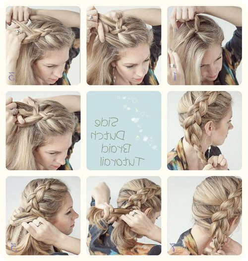 3 Easy Ways Back To School Hairstyles – | Long Hair Styles With Most Recent Side Dutch Braid Hairstyles (View 25 of 25)