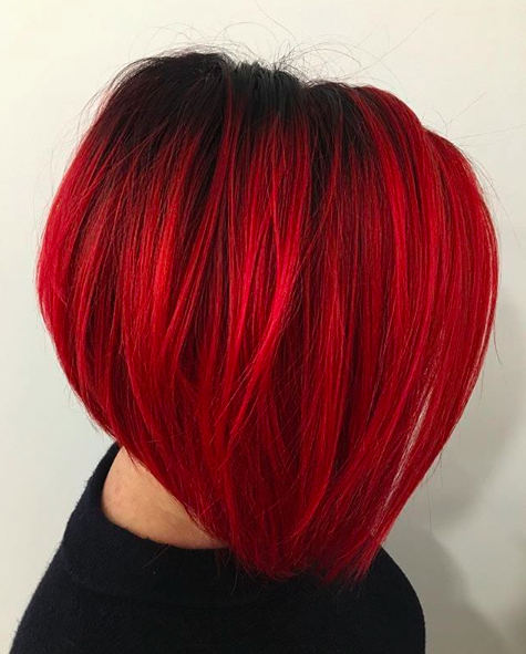 30 A Line Bob Haircuts 2017 | Herinterest/ Intended For Bright Red Bob Hairstyles (View 11 of 25)
