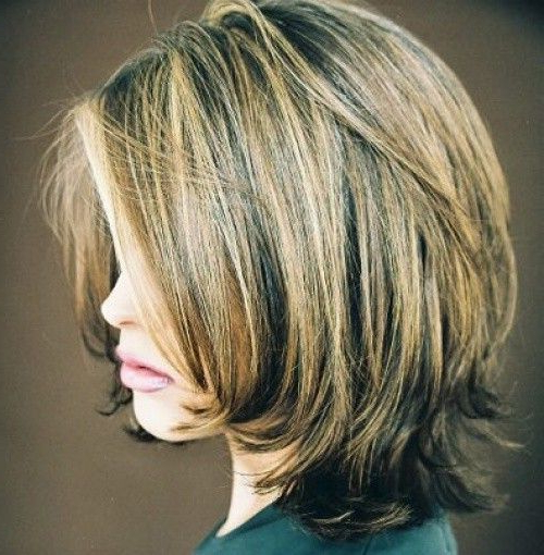 30 Best Bob Hairstyles For Short Hair | Hair | Pinterest In Bob Hairstyles With Subtle Layers (View 3 of 25)
