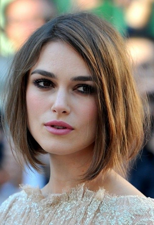30 Best Bob Hairstyles For Short Hair – Popular Haircuts Within Smooth Bob Hairstyles (View 4 of 26)