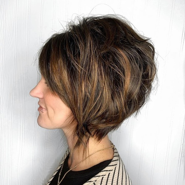 30 Best Bob Hairstyles For Women Over 50 – It's Rosy Throughout Texturized Tousled Bob Hairstyles (View 24 of 25)