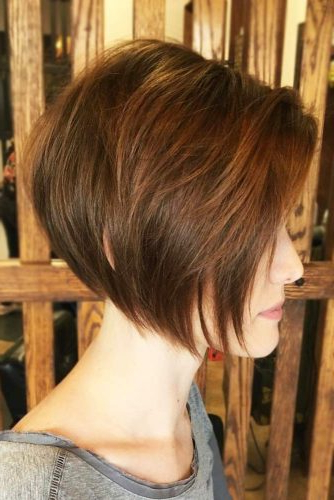 30 Hairstyles For Fine Hair To Put An End To Styling Troubles Within Jaw Length Short Bob Hairstyles For Fine Hair (View 20 of 25)