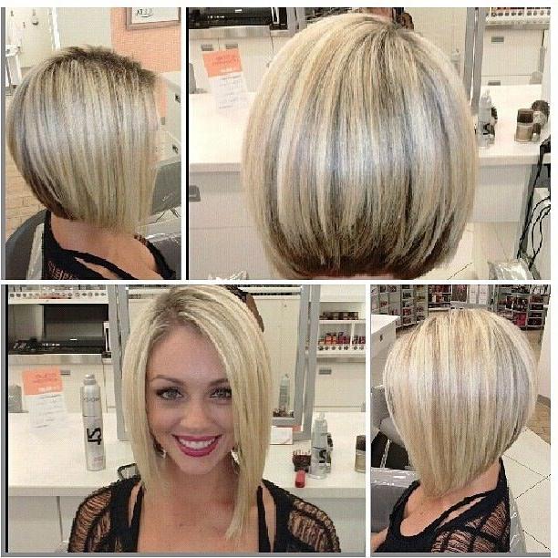 30 Must Try Medium Bob Hairstyles – Popular Haircuts Inside Asymmetrical Bob Hairstyles (View 20 of 25)