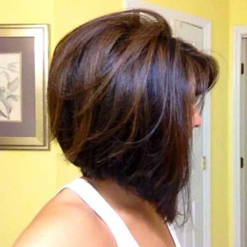 30 Popular Stacked A Line Bob Hairstyles For Women | Styles For A Line Bob Hairstyles (View 10 of 25)