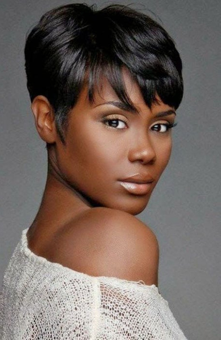 30 Stylish Short Hairstyles For Black Women – The Trend Spotter Inside Latest Perfect Pixie Haircuts For Black Women (View 7 of 25)