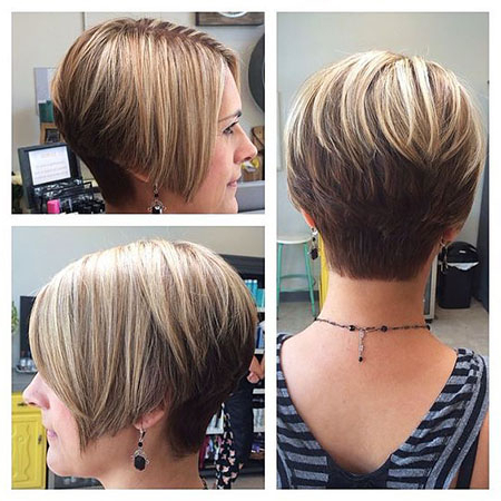 30 Super Short Bob Hairstyles For Super Short Inverted Bob Hairstyles (View 18 of 25)
