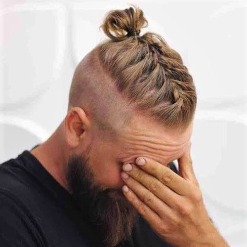 30 Top Knot Styles For Men + Top Knot V Man Bun? – Men With Most Current Modern Braided Top Knot Hairstyles (View 10 of 25)