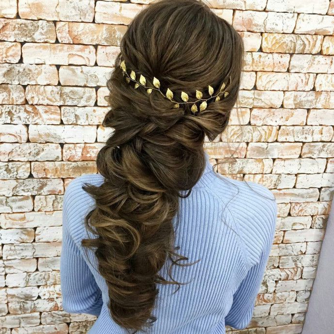 31+ Classy & Stunning Braided Hairstyles For Women | Grecian With Most Recent Grecian Inspired Ponytail Braid Hairstyles (View 2 of 25)