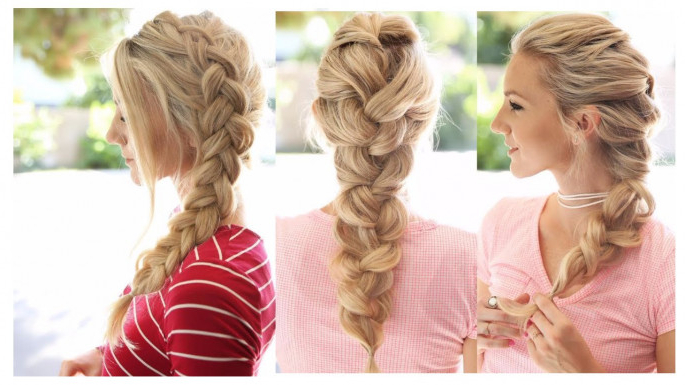 31+ Classy & Stunning Braided Hairstyles For Women – Sensod In Recent Grecian Inspired Ponytail Braid Hairstyles (View 9 of 25)