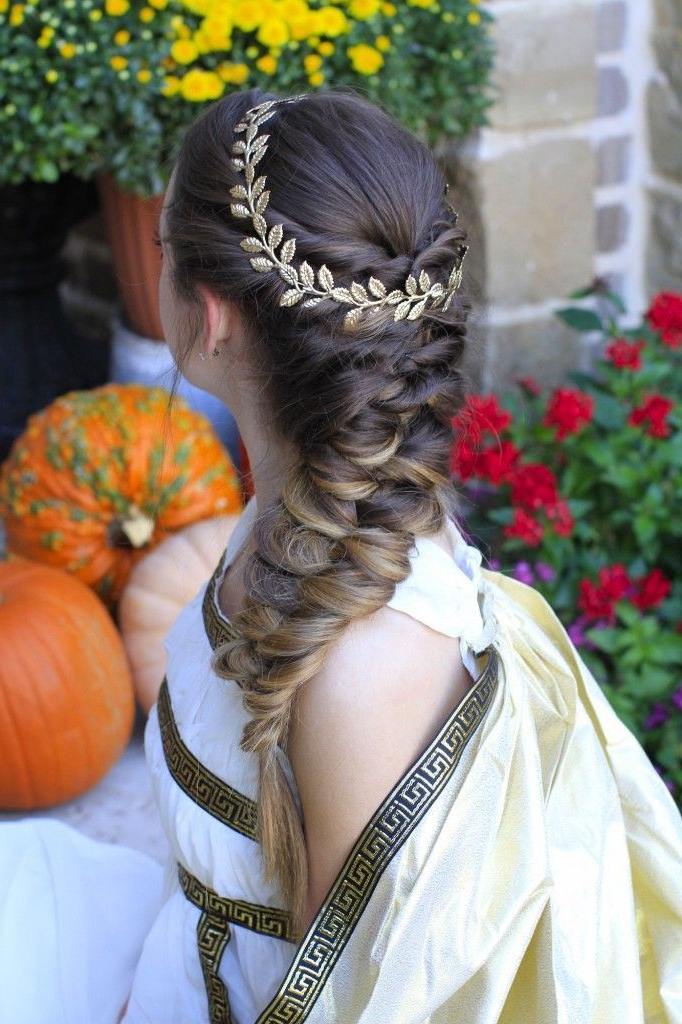 31+ Classy & Stunning Braided Hairstyles For Women – Sensod With Most Recent Grecian Inspired Ponytail Braid Hairstyles (View 5 of 25)