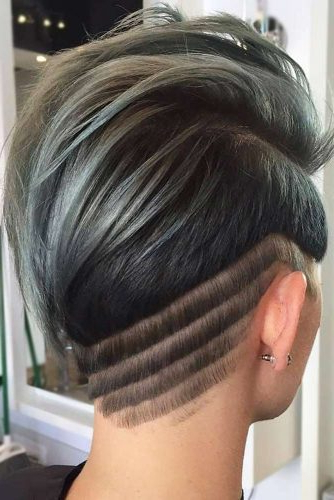 31 Different And Creative Undercut Designs For Bold Modern For Recent Shaved Undercuts (View 16 of 25)