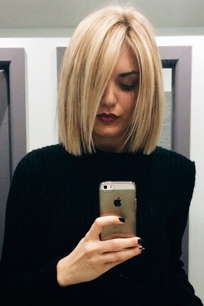 31 Versatile Medium Bob Haircuts To Try | Hairstyles For Versatile Lob Bob Hairstyles (View 9 of 25)