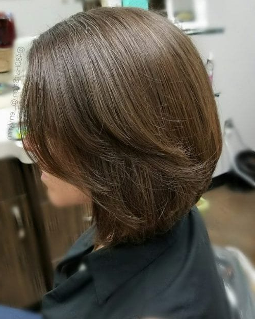 32 Layered Bob Hairstyles And Pertaining To Textured And Layered Graduated Bob Hairstyles (View 14 of 26)