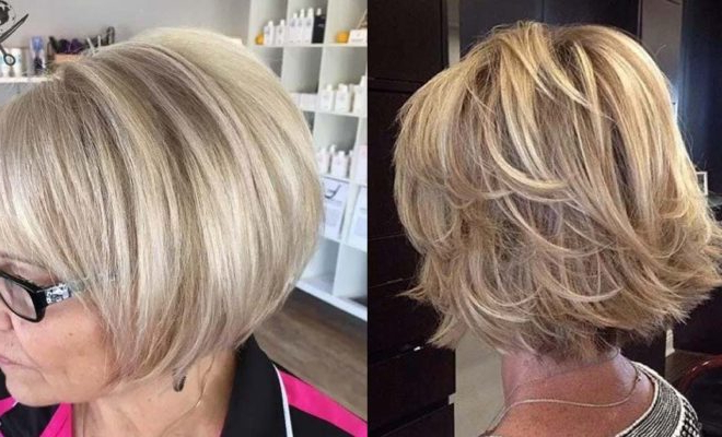 33 Best Hairstyles For Your 60S – The Goddess Inside Cute Round Bob Hairstyles For Women Over  (View 22 of 25)