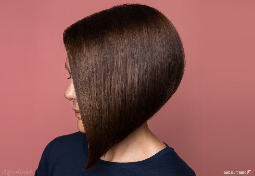 33 Hottest A Line Bob Haircuts You'll Want To Try In 2020 With Regard To Current Classic Disconnected Bob Haircuts (View 6 of 25)