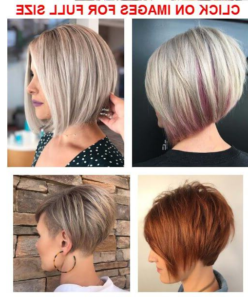 34 Easy Short Stacked Bob Haircuts For Thin Hair To Copy In 2019 For Short Stacked Bob Hairstyles (View 7 of 25)