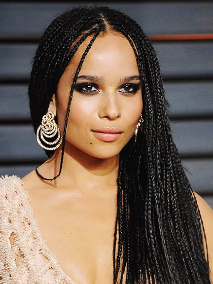 35 Micro Braids Hairstyles For African American Women Throughout Most Popular Ultra Thin Micro Braids Hairstyles (View 23 of 25)