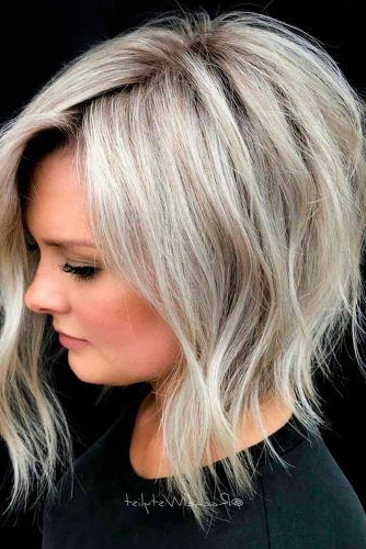 36 Amazing Layered Bob Haircuts: Modern And Stylish With Regard To Shaggy Bob Hairstyles With Choppy Layers (View 23 of 25)