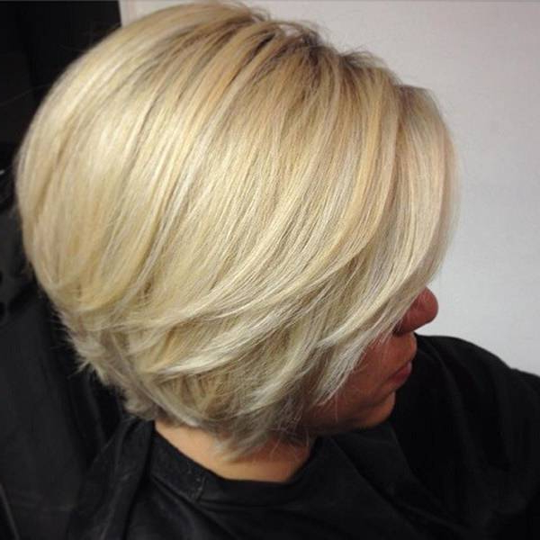 36 Extraordinary Wedge Hairstyles For Your Next Amazing Style Within Wedge Bob Hairstyles (View 12 of 25)