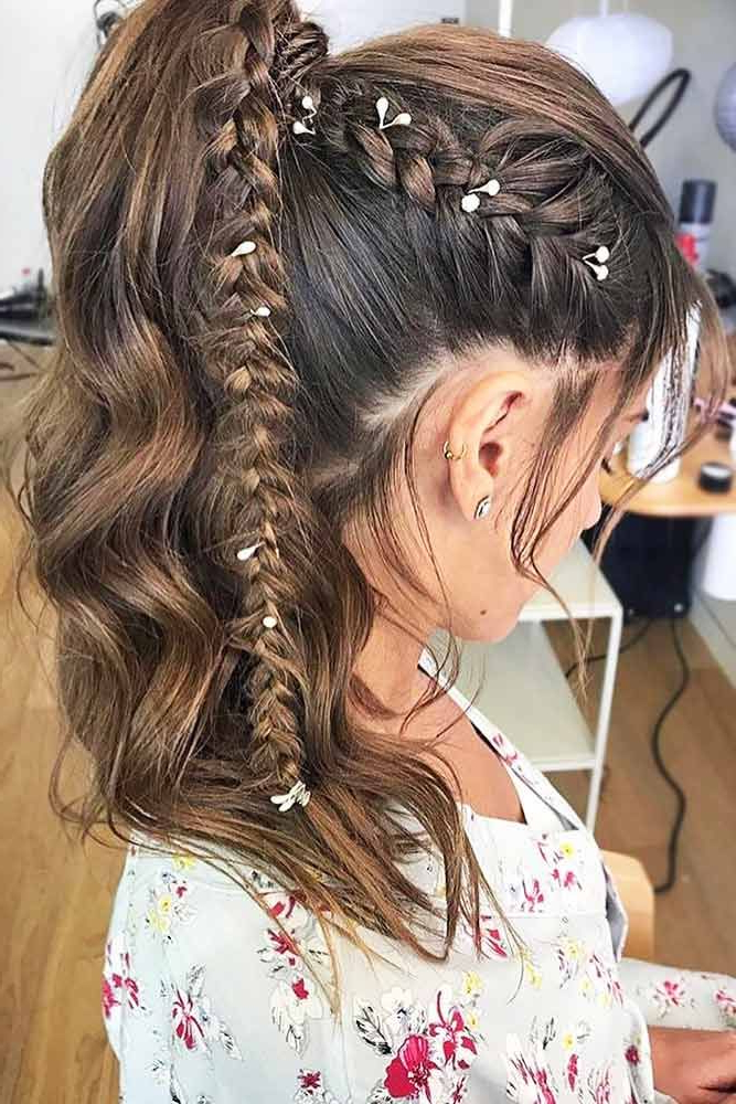 36 Types Of French Braid To Experiment With | Braided Styles Within Current Asymmetrical French Braid Hairstyles (View 5 of 25)