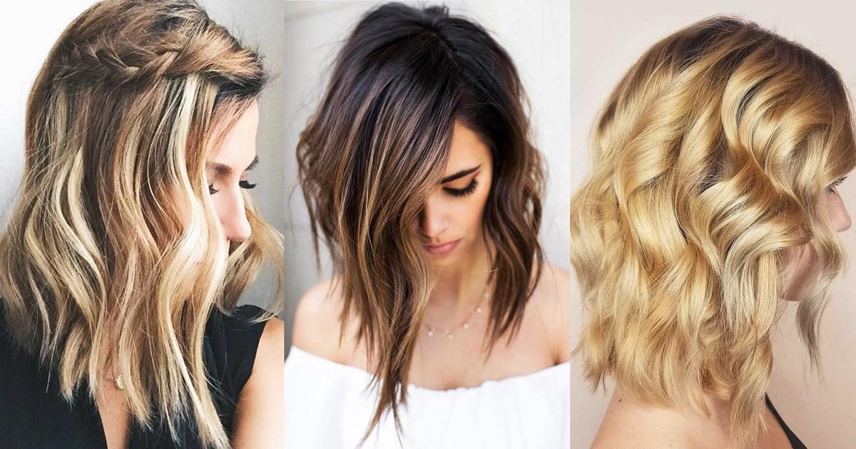 37 Beach Wavy Hairstyles For Medium Length Hair – Hairs (View 19 of 25)