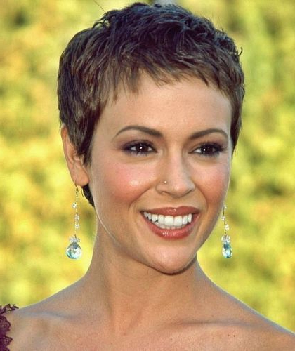 37 Brown Pixie Hairstyles (Short, Edgy & Classic Cuts!) Page With Best And Newest Morena Pixie Haircuts With Bangs (View 16 of 25)