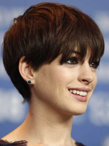 37 Brown Pixie Hairstyles (Short, Edgy & Classic Cuts!) Page With Regard To 2018 Morena Pixie Haircuts With Bangs (View 15 of 25)